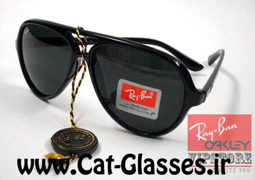 عینک ری بن کت مشکی